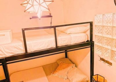 2 full bed dorm